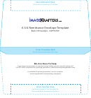 6 3/4 Remittance Envelope Template