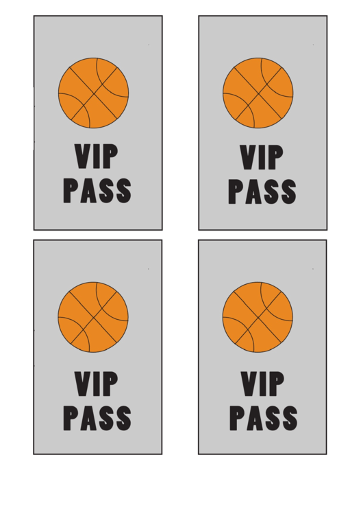 Top Vip Pass Templates free to download in PDF format