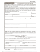 Va Form 10-7055 - Application For Voluntary Service