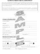 Sample Enrollment Agreement