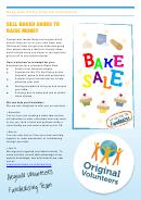 Bake Sale Template