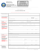 Form Closecorpart1999.01 - Articles Of Incorporation For A Close Corporation - 2002