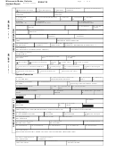 Form Rx5h733 - Wisconsin Motor Vehicle Accident Report