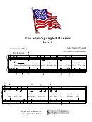 The Star-spangled Banner Piano Sheet Music