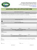 Additional Dwelling Application Form - Thompson-nicola Regional District