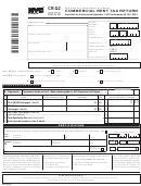 Form Cr-q2 - Commercial Rent Tax Return - 2011/12