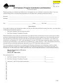 Form Vt - Veterans' Program Contribution And Deduction - Montana Department Of Revenue - 2010