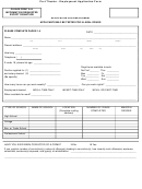 Theater Employment Application Form