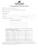 3 On 3 Basketball Tournament Sign-up Sheet