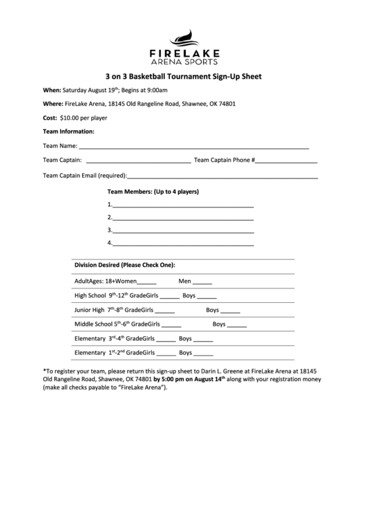 top basketball sign up sheets free to download in pdf format