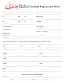 Account Registration Form