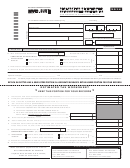 Form Nyc-5ubti - Declaration Of Estimated Unincorporated Business Tax - 2014