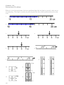 Chemistry Measurement Worksheets