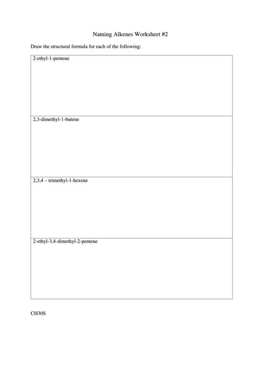 Naming Alkenes Worksheet Printable Pdf Download. Naming Alkenes Worksheet. Worksheet. Alkenes Worksheet At Clickcart.co