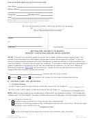 Form Shc-1500 - Motion And Affidavit To Modify Custody, Visitation And/or Child Support