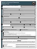 Form Bfr-003 - Pennsylvania Board Of Finance & Revenue - Petition Form