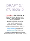 Form Pit-z Draft - New Mexico Pit-1 Addendum Form - 2012