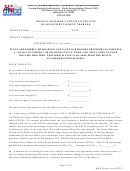 Rad Form 8 - Housing Provider's Notice To Tenants Of Adjustment In Rent Charged