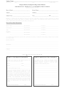Emergency Medical Authorization Form