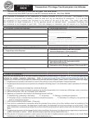 Form 5000 - Transaction Privilege Tax Exemption Certificate