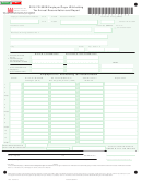 Form Fr-900b - Employer/payor Withholding Tax Annual Reconciliation And Report - 2016