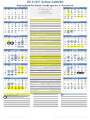 School Calendar - Springfield Christian Kindergarten & Preschool - 2016-2017