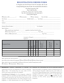 Registration/order Form