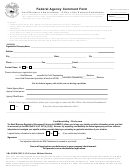 Sba Form 1993 - Federal Agency Comment Form - Small Business Administration - 2013