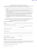 Dwc Form 9783 - Notice Of Predesignation Of Personal Physician