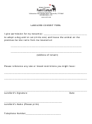 Landlord Consent Form
