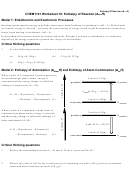Enthalpy Of Reaction Worksheet
