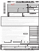 Form 204ez Draft - Unincorporated Business Tax Return For Partnerships - 2016