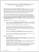 Instructions: How To Fill Out Forms To Respond To A Petition To Establish Paternity, Legal Decision Making And Parenting Time