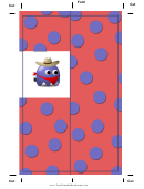 Monster Cowboy Bookmark