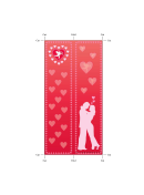Romance Bookmark - Couple