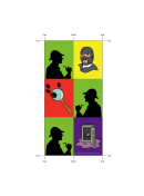 Mystery Bookmark - Detective