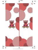 Pink Kitty Bookmark