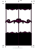 Gothic Black Heart Bookmark