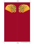 Tacos Bookmark