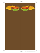 Brown Chips Salsa Bookmark