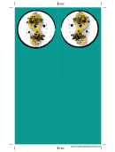 Green Chinese Food Bookmark
