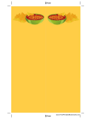 Yellow Chips Salsa Bookmark