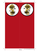 Red Chinese Food Bookmark