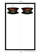Soup Black Border Bookmark