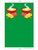 Soup Cheese Green Bookmark
