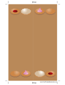 Iced Cookies Bookmark 2