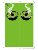 Soup Green Bookmark