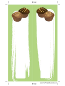 Green Muffins Bookmark