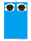 Blue Chocolate Truffle Bookmark
