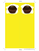 Yellow Chocolate Truffle Bookmark